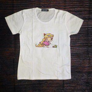 Rapunzel Tangled Girls Short Sleeve Shirt